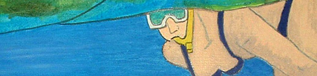 snorkelcende vrouwsmaller